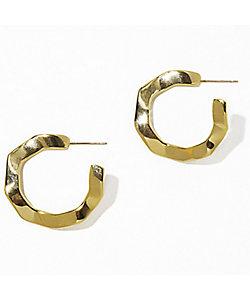 IRIS47(Women)/イリスフォーセブン wavy pierce gold