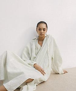 """little Suzie(Women)/リトルスージー French Linen Back """"O"""" Dress"""