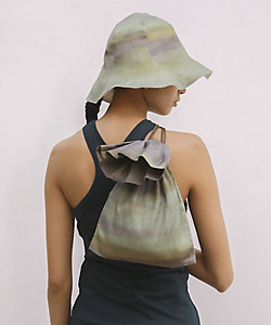 little Suzie(Women)/リトルスージー Watercoler Print Drawstring Bag