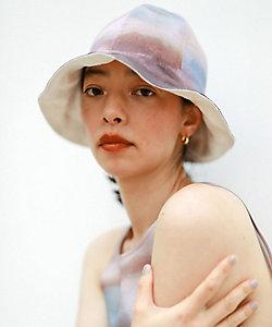 little Suzie(Women)/リトルスージー Watercoler Print Reversible Tulip Hat