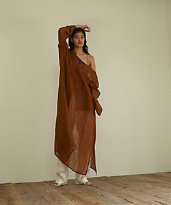 little Suzie(Women)/リトルスージー 2way Linen Kaftan Dress(ls112D)