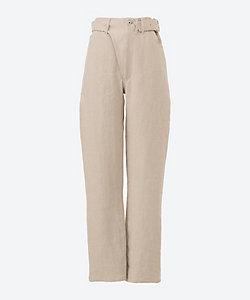 INSCRIRE(Women)/アンスクリア Linen Canvas Bikers Pants