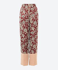 ELIN(Women)/エリン Exotic print elastic Pants