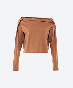 ELIN(Women)/エリン <Tee>Tuck jersey top