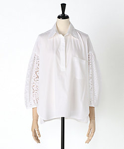 TICCA(Women)/ティッカ 【VERY 4月号掲載商品】レースパフスリーブシャツ(TBKS-081)