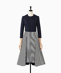 BORDERS at BALCONY(Women)/ボーダーズアットバルコニー 別注 JERSEY TUCK DRESS