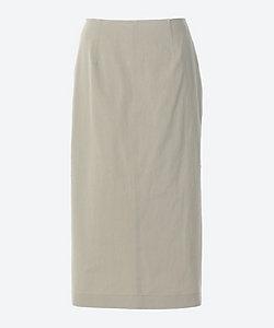 Cotton Twill Tight Skirt