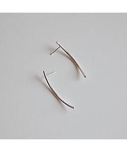 atur /アテュール Rae pierce short (silver)
