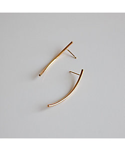 atur /アテュール Rae pierce short (gold)