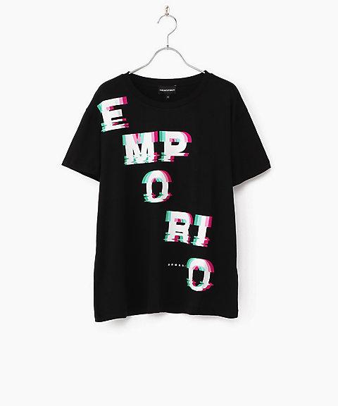 save off dc883 b66e3 エンポリオアルマーニ(EMPORIO ARMANI) レディースTシャツ ...