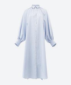 HAVEL STUDIO(WOMEN) /ハーヴェル スタジオ ワンピース BIG DRESS SH/OP SATIN+MASK58000