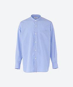 HERILL (Men)/ヘリル カジュアルシャツ Suvin Stand Collar Shirts 21 050 HL 8020 1