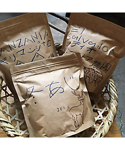 橘コーヒー店/タチバナ コーヒー テン コーヒー豆セット set1