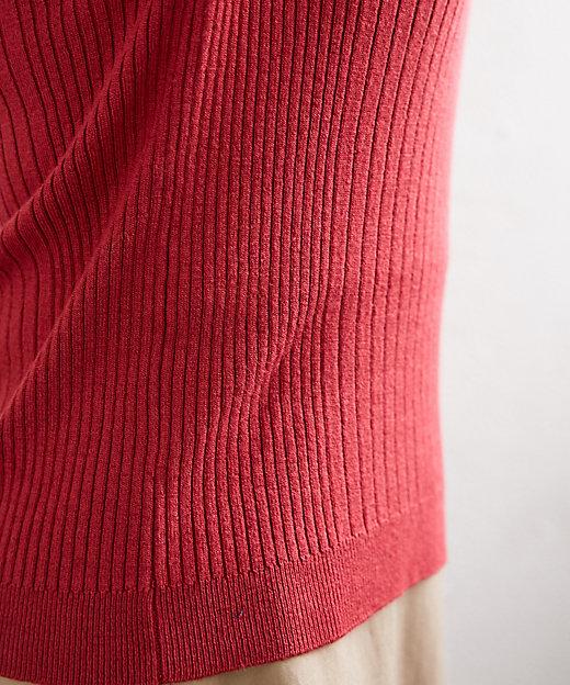 リブニット (太って見える・胸が強調されるお悩み用) スモールサイズ