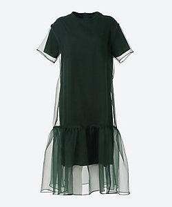 AKIRANAKA(Women)/アキラナカ Layer organza dress GR