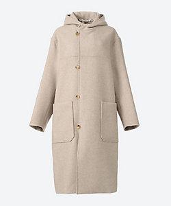AURALEE(Women)/オーラリー LIGHT MELTON HOODED COAT