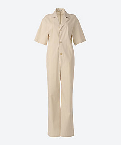 AURALEE(Women)/オーラリー FINX NYLON STRETCH JUMPSUIT