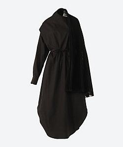 HYKE(Women)/ハイク OXFORD PLEATED SHIRT DRESS
