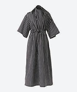 HYKE(Women)/ハイク STRIPED DRESS