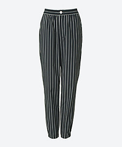 HYKE(Women)/ハイク STRIPED EASY TAPERED PANTS