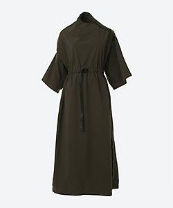 HYKE(Women)/ハイク SOLOTEX STRETCH ASYMMETRIC DRESS