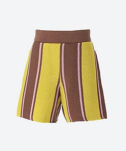 AKIRANAKA(Women)/アキラナカ Veer knit shorts pants YEBR