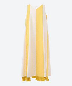 AKIRANAKA(Women)/アキラナカ Ans fringed dress WHYE