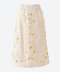 les Briqu´a braque(Women)/レ・ブリカ・ブラック 伊勢丹新宿店別注 一点ものボタンスカート