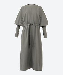 HYKE(Women)/ハイク Carefree BALLOON SLEEVE DRESS