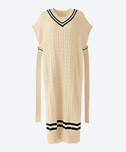 HYKE(Women)/ハイク TILDEN SWEATER DRESS