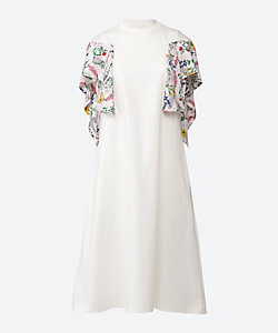 Anemone twist sleeves dress WH