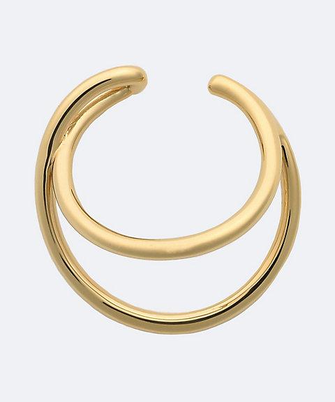 HYKE DOUBLE EAR CUFF(SMALL) gold