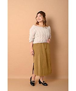 la farfa SHOES(Women/大きいサイズ)/ラ・ファーファ シューズ 4cmヒールマニッシュローファー