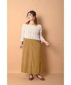 la farfa SHOES(Women/大きいサイズ)/ラ・ファーファ シューズ 2.5cmヒールスタッズパンプス