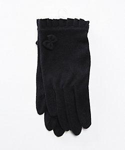 JOLI COMME UN COEUR(Baby&Kids)/ジョリコムアンクール フリルリボン付手袋
