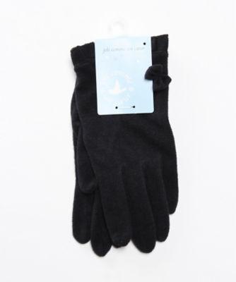 <joli comme un coeur/ジョリコムアンクール> フリルリボン付手袋 ネービーブルー<三越・伊勢丹/公式>