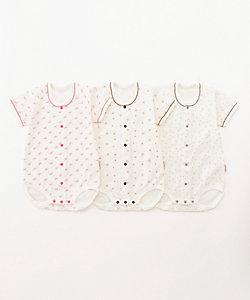 ANNA NICOLA(Baby&Kids)/アンナニコラ ボディスーツ 3枚セット