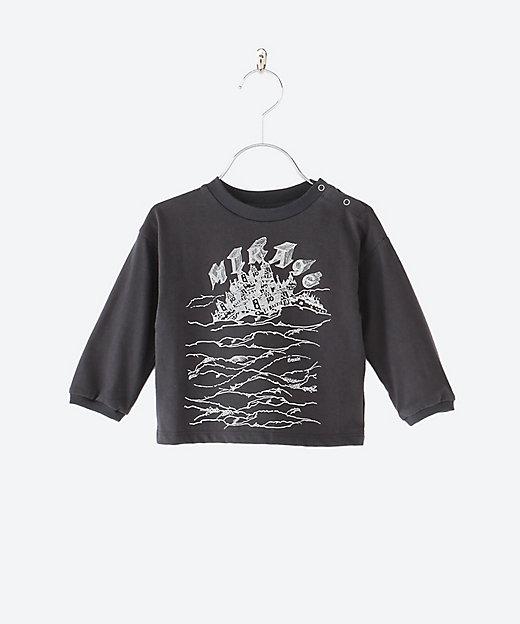 三越伊勢丹オンラインストア<ELFINFOLK(Baby & Kids)/エルフィンフォルク> 長袖Tシャツ charcoal【三越伊勢丹/公式】