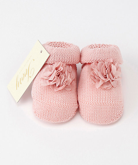 三越・伊勢丹オンラインストア【SALE(三越)】<Ivory/アイボリー> 新生児用 靴下 ライトピンク 【三越・伊勢丹/公式】