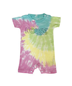 IN THE HOUSE(Baby&Kids)/イン ザ ハウス ロンパース HOUSE Tie-Dye ROMPER(BABY)