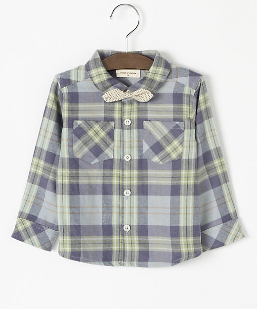 <SENSE OF WONDER(Baby & Kids)/センス オブ ワンダー> チェックシャツ ブルー【三越伊勢丹/公式】