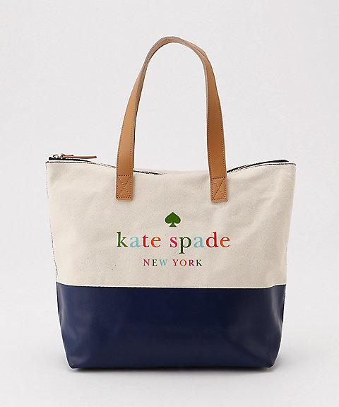 三越・伊勢丹オンラインストア【SALE(伊勢丹)】<kate spade new york childrenswear/kate spade new york childrenswear> キャンバストートバッグ(8681416) コン 【三越・伊勢丹/公式】