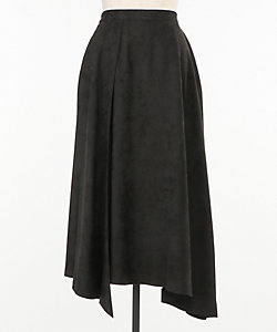 MW/エムダブリュー スエードアシメスカート