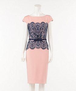 ネオプレンレースドレス