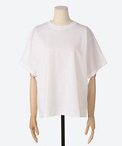 ebure(women)/エブール 超長綿スーピマコットン Tシャツ