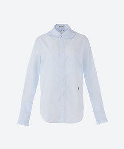 MADISONBLUE(Women)/マディソンブルー MB211-5003 ROUND COLLAR FRILL SHIRT