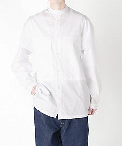 E.TAUTZ/イートーツ 衿なしシャツ(XSHI02-2011)