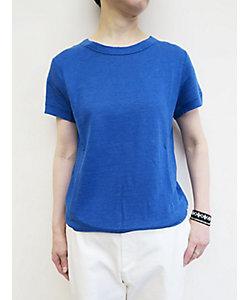 PERMANENT AGE(Women)/パーマネントエイジ リネン天竺 半袖Tシャツ