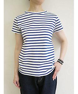 PERMANENT AGE(Women)/パーマネントエイジ ボーダー半袖Tシャツ