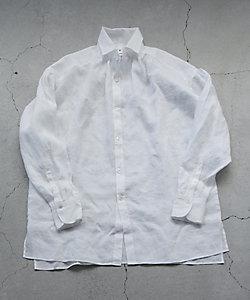 R(WOMEN)/アール リネンギャザーシャツ